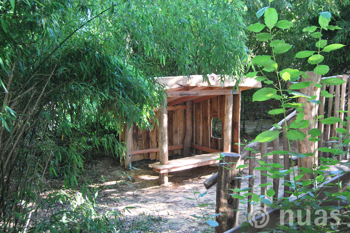 Handwerkerhaus - nuas® Häuser aus Holz und Weiden