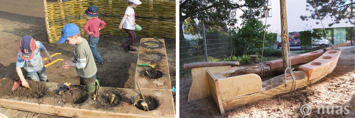 Kochen an Land und auf See - nuas® für Kindergarten Schule