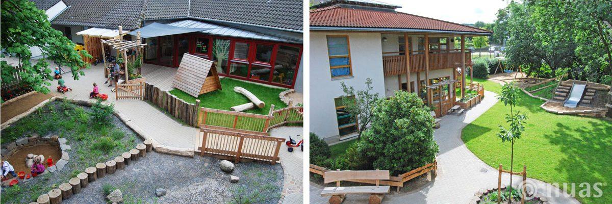 U3 Außengelände und Gesamtgestaltung - nuas® für Architekten