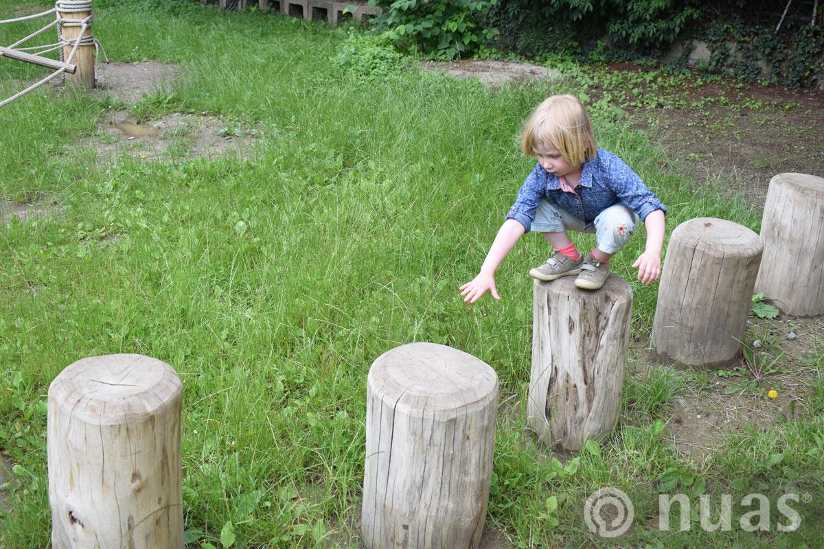 Hockertrittweg - nuas® Baumstammwege