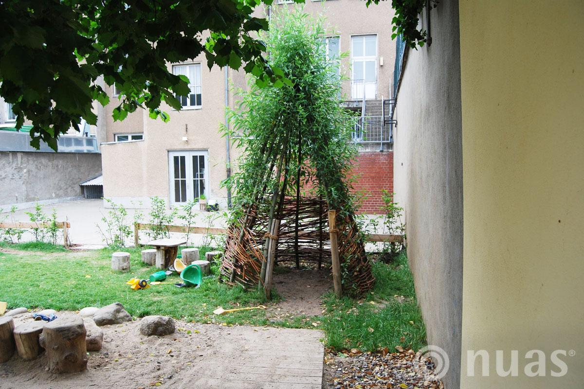 Weidentipi - nuas® Häuser aus Holz und Weiden