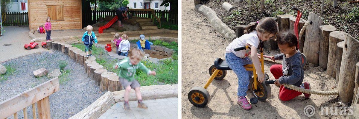 Lust auf Leben / Draussen spielen - nuas® für Kindergarten Schule