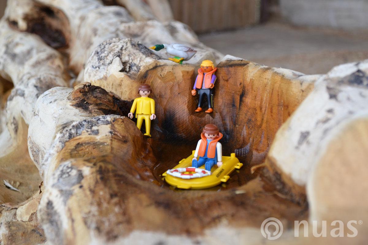 Wasserspielstamm - nuas® Wasserspiellandschaft