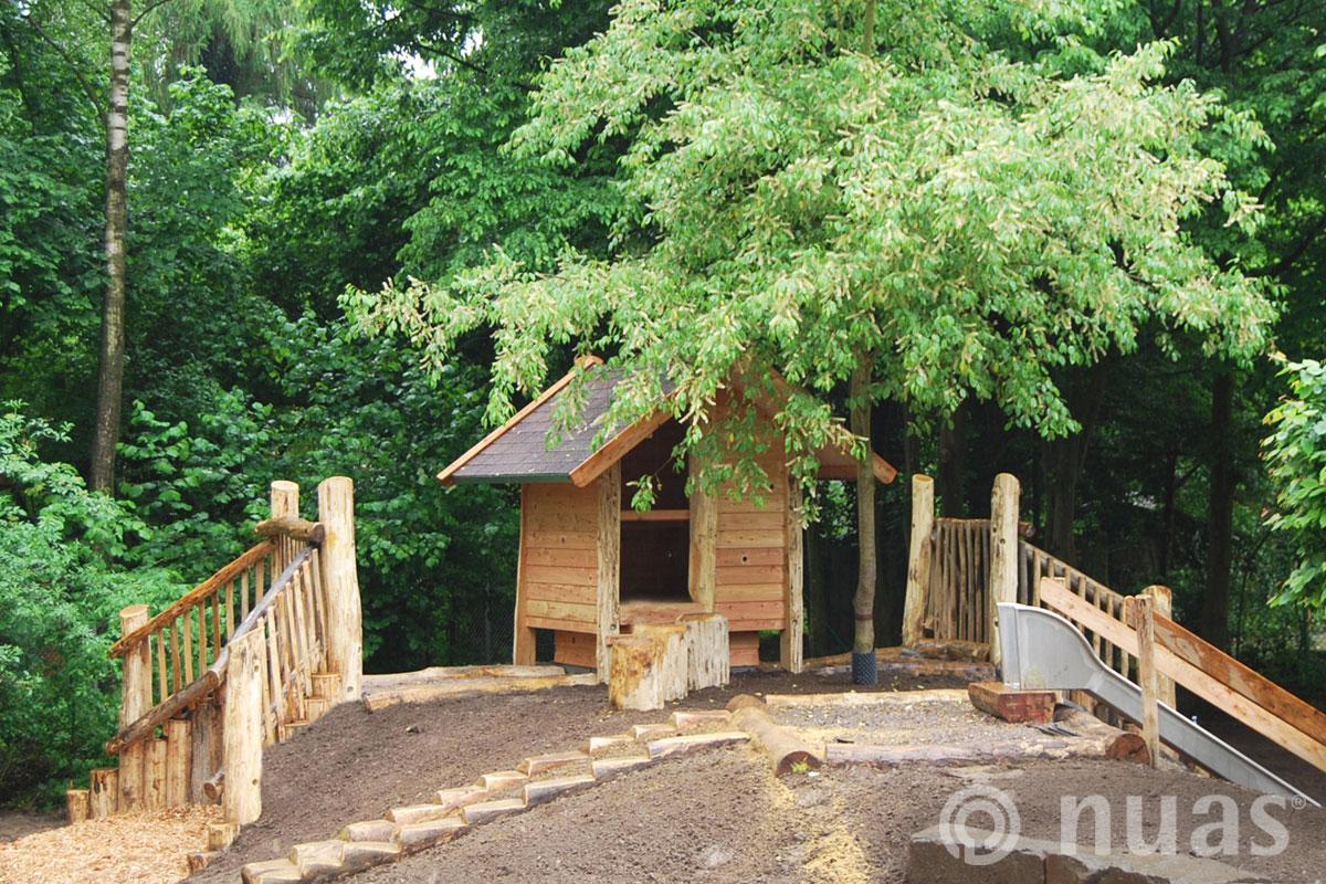 Gipfelhaus - nuas® Häuser aus Holz und Weiden