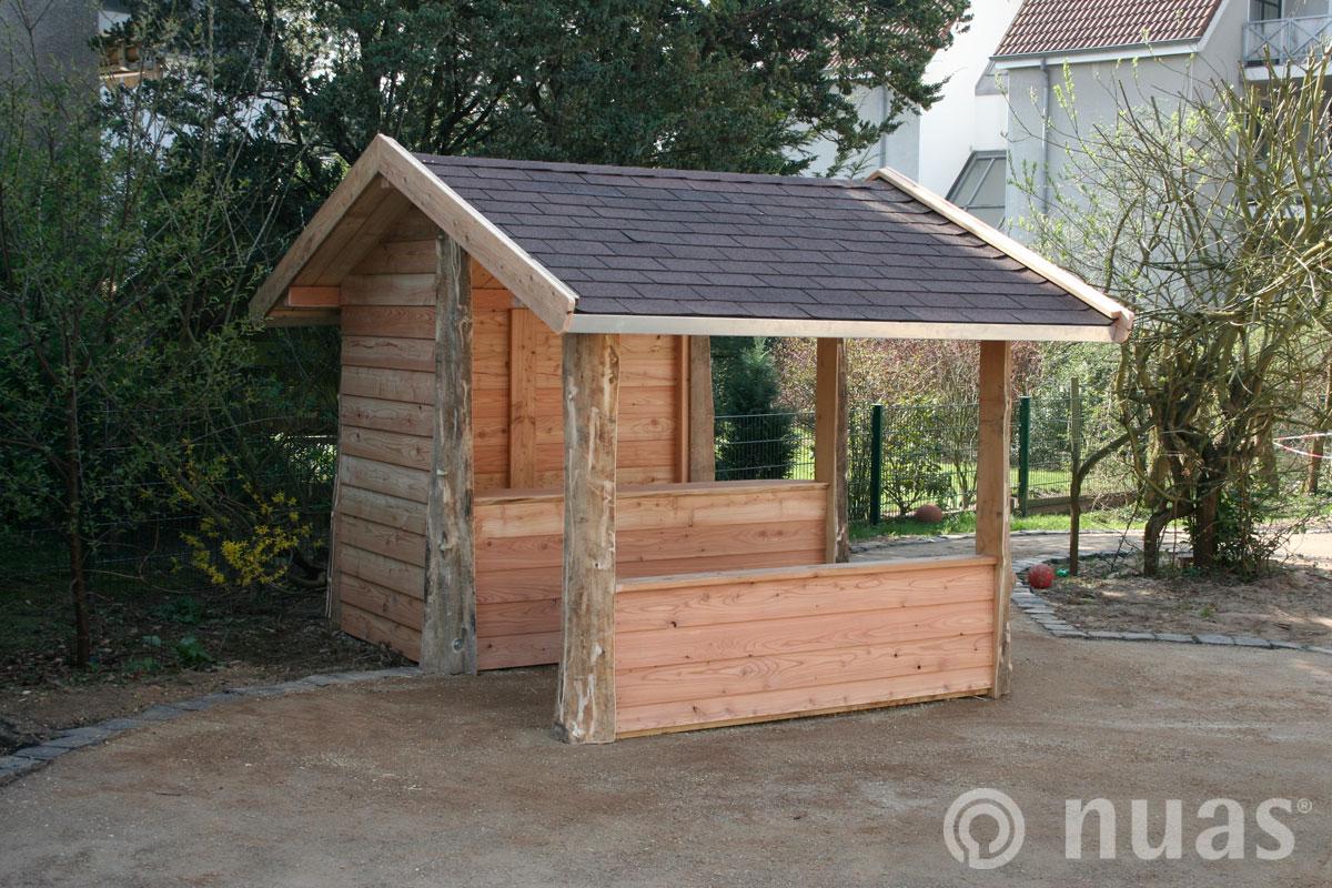 Drive In - nuas® Häuser aus Holz und Weiden