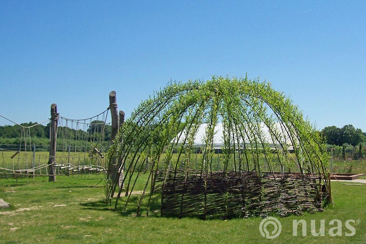 Weidenkuppel - nuas® Häuser aus Holz und Weiden