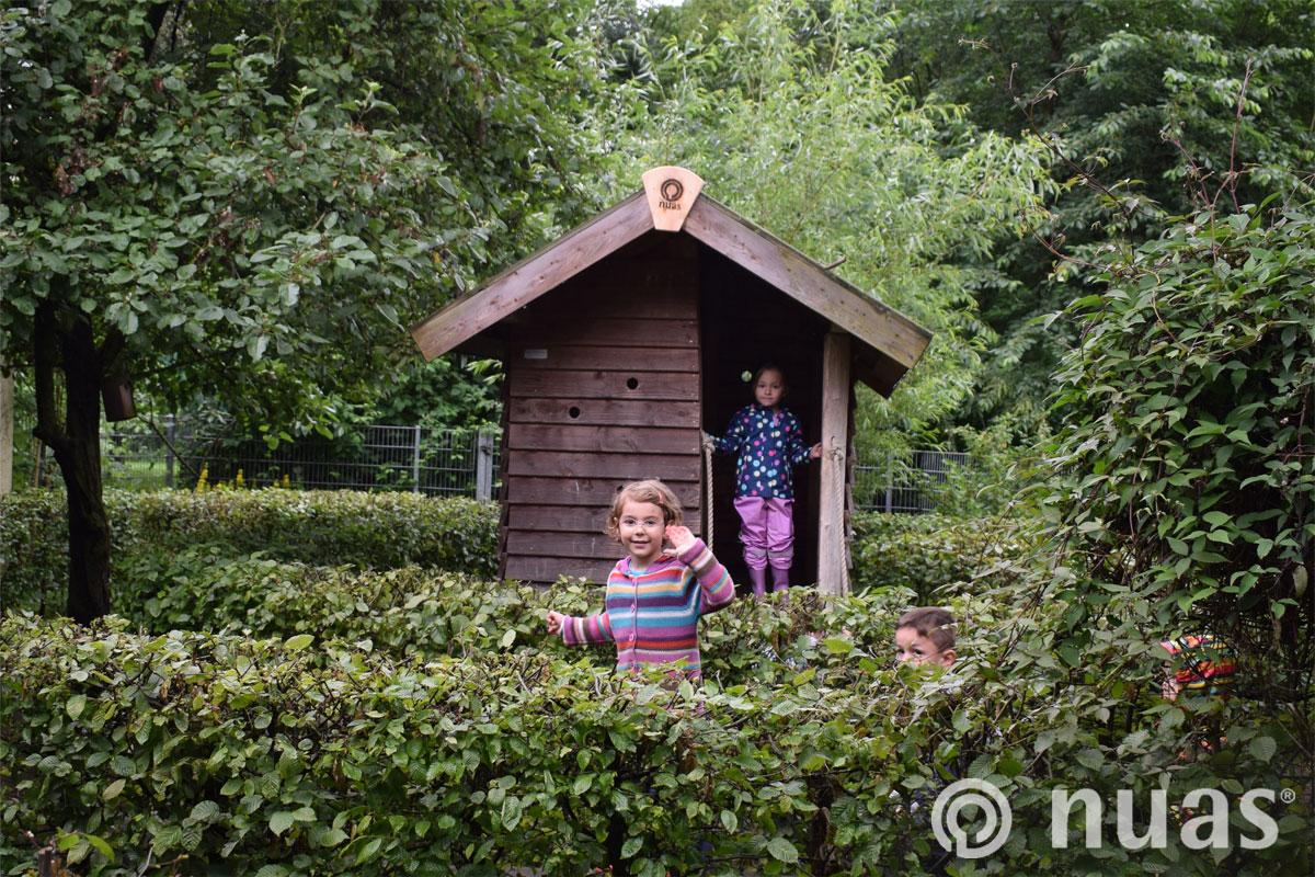 nuas Spielhaus im Labyrith