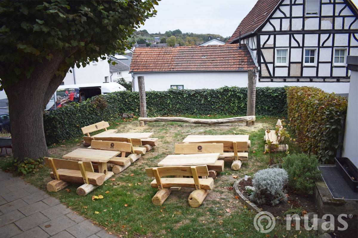 nuas Sitzbänke Tische Kita Drachenhöhle Wachtberg