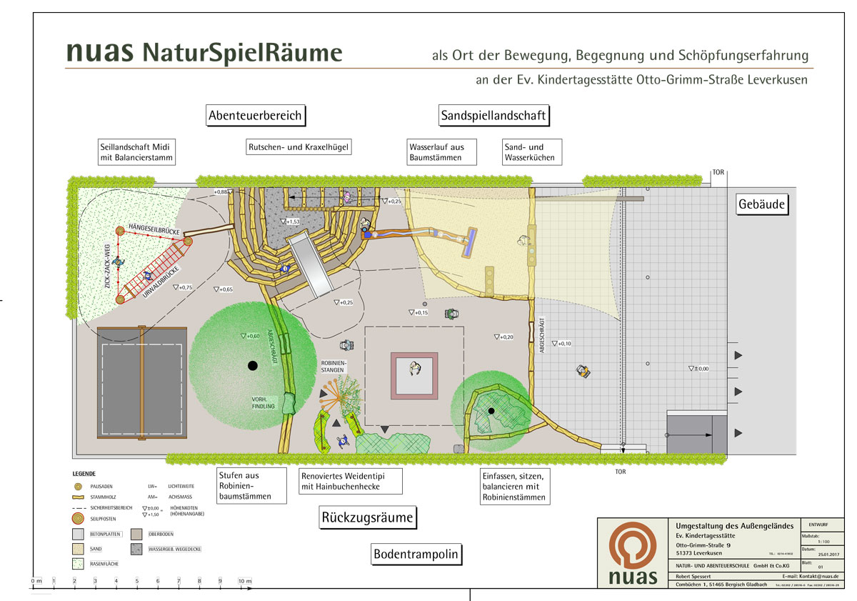 nuas Planung Leverkusen Kita Otto Grimm Straße