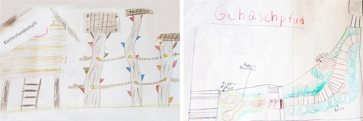 Planungsentwurf Kinder für nuas